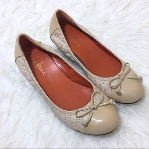 Cole Haan Nike Air Cap Toe Wedges Nude Size 5.5